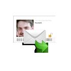 E-mail met een  medium uit Friesland